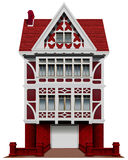 A big red house Royalty Free Stock Photo