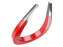 Big red magnet Royalty Free Stock Images