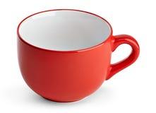 Big red mug. Royalty Free Stock Photos