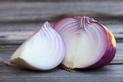Big Red Onion Close up Royalty Free Stock Image