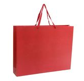 Big red shopping bag Royalty Free Stock Images