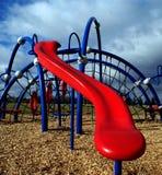 Big red slide Royalty Free Stock Image