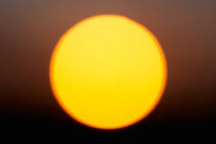Big red star Sun Stock Images