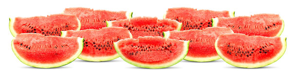 Big red watermelon Royalty Free Stock Photography