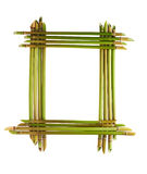Big reed frame Stock Image
