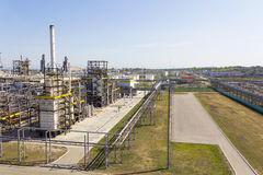 Big refinery complex at summer daylight Stock Image