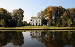 Big residence at riverside Stock Image