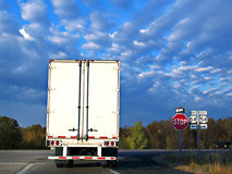 Big Rig Truck Stock Photo