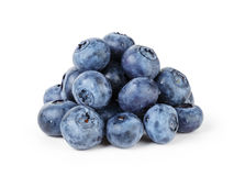 Big ripe blueberries Royalty Free Stock Photos