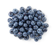 Big ripe blueberries Stock Images
