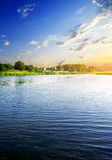 Big river Royalty Free Stock Image