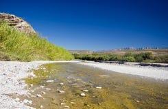 Big River, No Water Stock Image