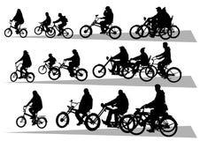 Big road bikes Royalty Free Stock Photos