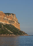 The big rock Cap Canaille in South France Stock Images