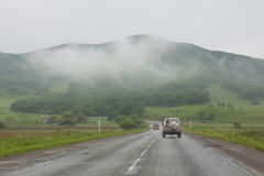 Big Rock, city in Primorskiy kray Stock Photography