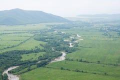 Big Rock, city in Primorskiy kray royalty free stock images