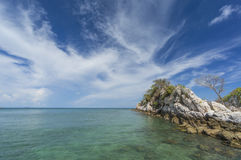 Big rock at Coral bay Stock Photography