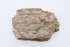 A big rock on an empty background Stock Photography