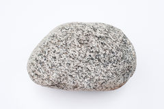 A big rock on an empty background Royalty Free Stock Photography
