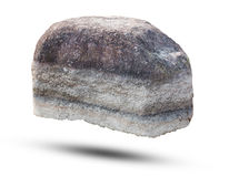Big rock isolated on white background. Object with clipping path Royalty Free Stock Photo