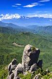 Big rock and Mountain Stock Image