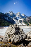 Big Rock in the Mountains Royalty Free Stock Photography