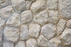 Big rock stone wall for home Stock Images