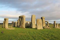 The stones of Stonehenge, England. The big rock at the stones of Stonehenge, England stock images