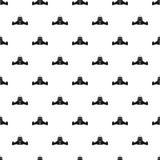 Big rocket pattern, simple style Royalty Free Stock Photo