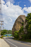 Big rocks at koh samui Stock Photography