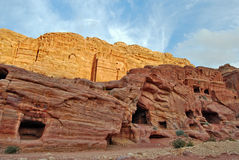Big rocks in Petra,Jordan Royalty Free Stock Photo