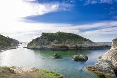 Big rocks in the sea. Beautiful landscape royalty free stock image