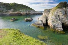 Big rocks in the sea. Beautiful landscape stock photography