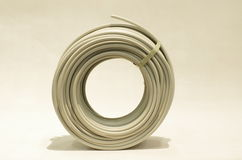 Roll of cable. Big roll of cable Royalty Free Stock Photo