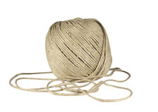 Big roll of rope Stock Images