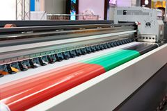 Rolling plotter Stock Images