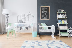 Big room for little one royalty free stock photography
