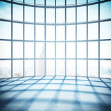 Big room with window Royalty Free Stock Photos