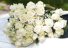 Big roses bouquet Royalty Free Stock Photos