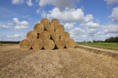 Big round bales Royalty Free Stock Images