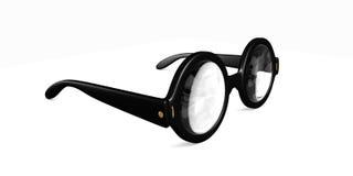 Big Round glasses Stock Photos