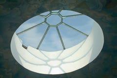 Big round window Royalty Free Stock Image