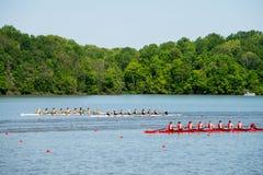 Big 10 Rowing Stock Photo