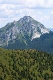 Big Rozsutec (Velky Rozsutec) in Mala Fatra mountain, Slovakia Royalty Free Stock Photo