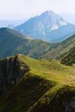 Big Rozsutec (Velky Rozsutec), Mala Fatra Mountain, Slovakia Royalty Free Stock Images