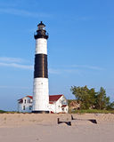 Big Sable Lighthouse Ludington State Park Michigan Royalty Free Stock Images
