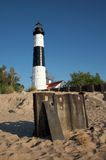 Big Sable Point Lighthouse Stock Image
