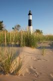 Big Sable Point Lighthouse. Lake Michigan Stock Photo