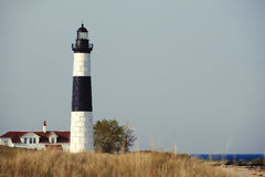 Big Sable Point Lighthouse in dunes, built in 1867 Stock Image