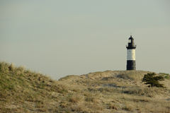 Big Sable Point Lighthouse in dunes, built in 1867 Royalty Free Stock Photos